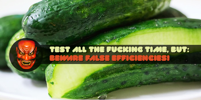 Cucumber sucks